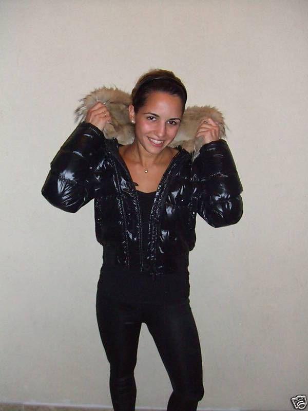 "Moncler ""Alberta"" fur-hooded down jacket – black"