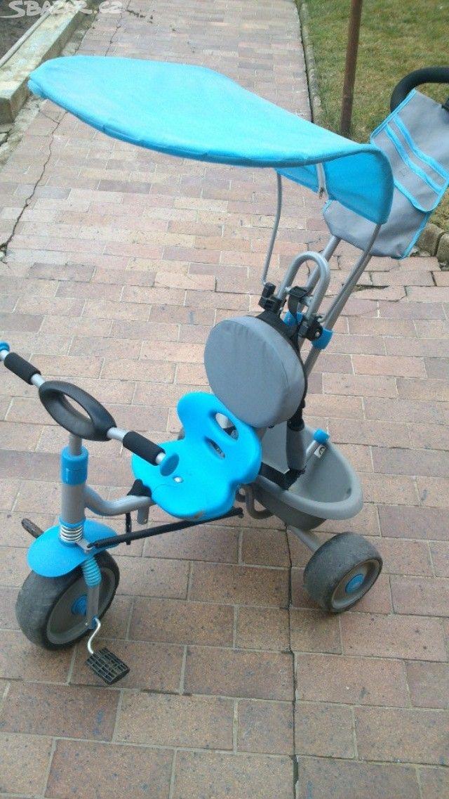 Dobrý den, nabízím světlemodré dětské vozítko, s - obrázek číslo 1