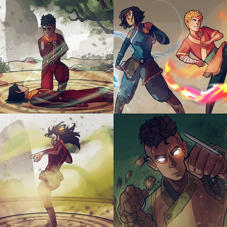 Kai And Ikki For Story Here Korra And Naruto For Story