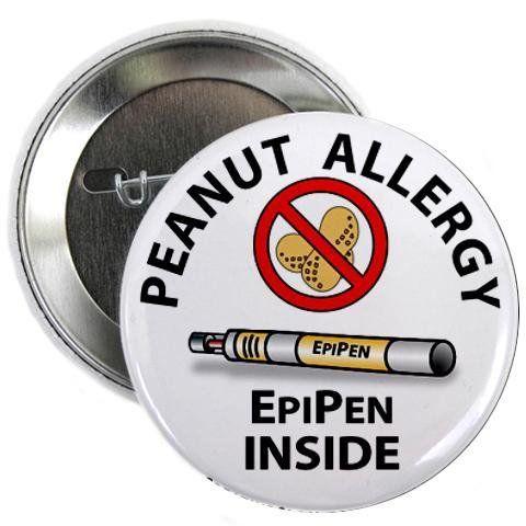PEANUT ALLERGY EpiPen Inside Medical Alert