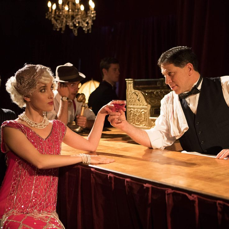 Speakeasy SF: hidden bar and interactive show experience. Costumes required!