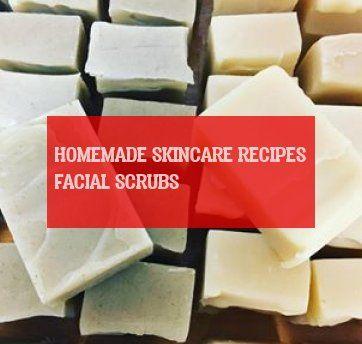 homemade skincare recipes facial scrubs ; hausgemachte hautpflege rezepte gesich…