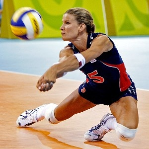 Grit.  Determination.  Will.  What ever you call it you need it. Stacy Sykora has it in spades. #Volley People