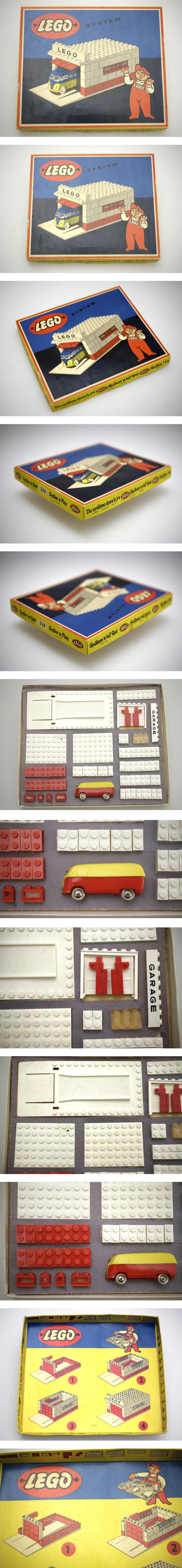 LEGO SET 236 from 1957 A true vintage gem! For Sale NOW on EBAY.DE