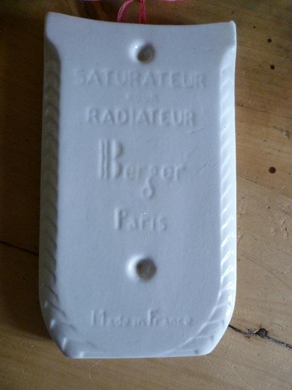 French Humidifier Porcelain Saturateur Pour by CafeParisien