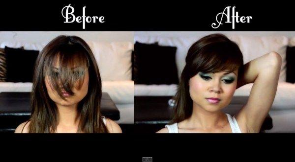 How to Cut Bangs | Cute Hair by Makeup Tutorials at http://www.makeuptutorials.com/how-to-cut-bangs-hair-tutorial