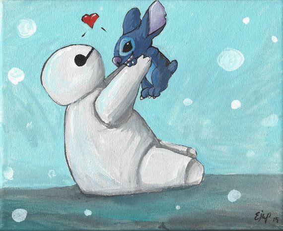 Baymax and Stitch