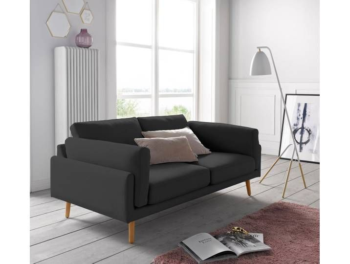 Andas 2 Sitzer Malvik Design By Anders Norgaard Schwarz Leder Sev Furniture Home Home Decor