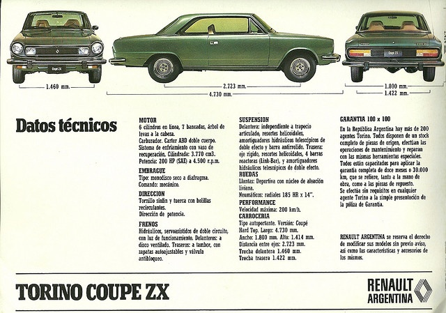 Torino Coupe ZX by Hugo90, via Flickr