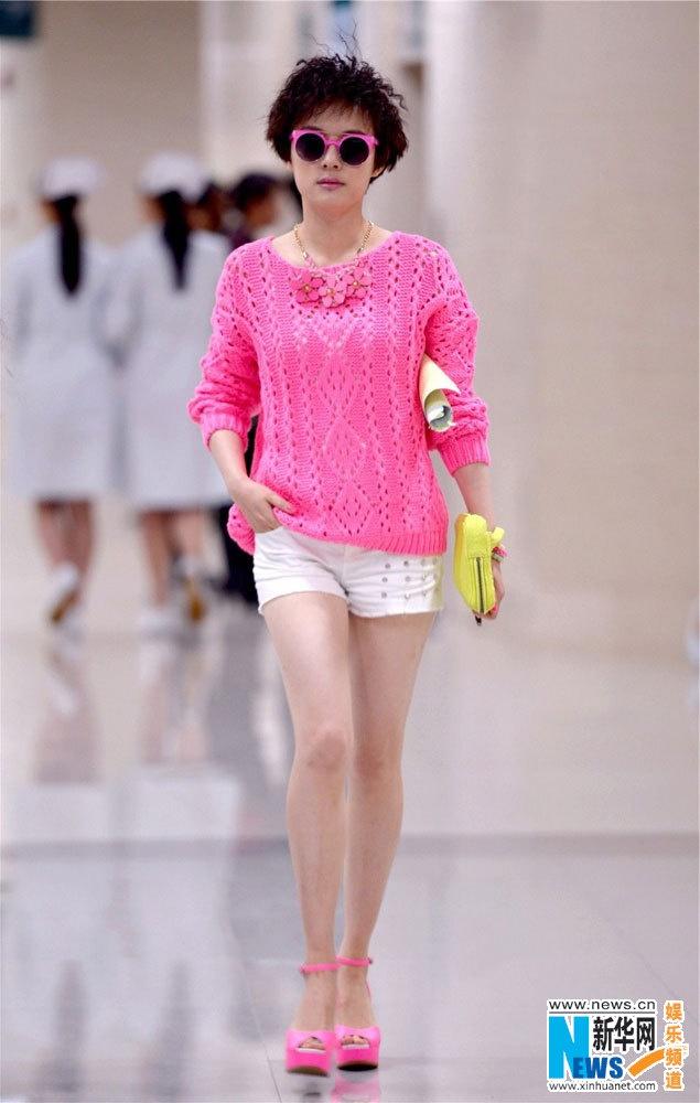 Chinese actress Sun Li