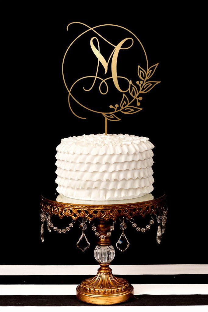 wedding cake topper letter best 25 gold cake topper ideas on cake 8805
