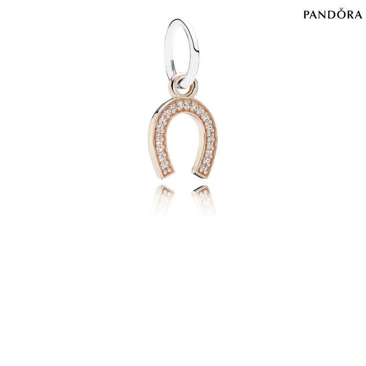 Pandora Symbole De La Chance Or Rose [Pendentif Pandora Pas Cher]