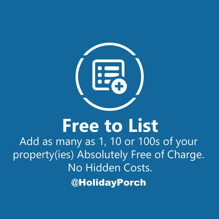 Free to list properties No hidden cost: http://ow.ly/tgxT301tylj