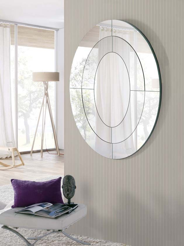 Espejos modernos de cristal sniper decoraci n beltr n tu for Espejos decorativos modernos