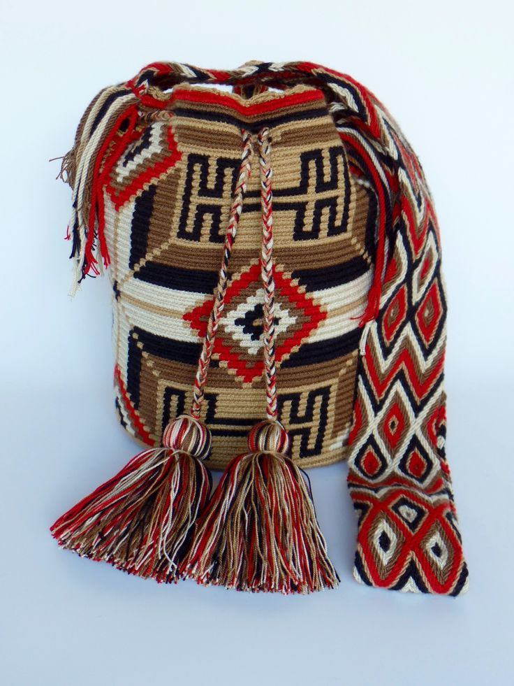 "All ""ORIGINAL HANDMADE"" Wayuu Bags. StyLeArtiSanHanDs@ ETSY.com us$86.00 We Ship ""WorldWide""."