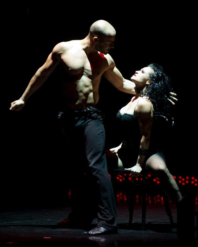 Santo Costa and Giselle Peacock of Burn The Floor