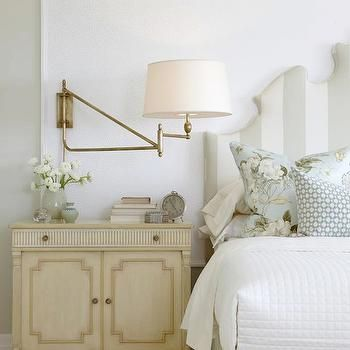 Sarah Richardson: Sarahu0027s House (Season Master Bedroom) I Love The  Swing Arm Wall Lamp Idea Over A Nightstand.