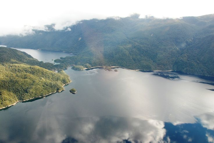 The magical Fiordland coastline