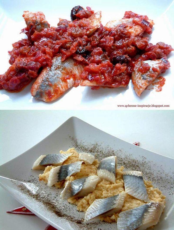Qchenne-Inspiracje! FIT blog o zdrowym stylu życia i zdrowym odżywianiu. Kaloryczność potraw. : Wigilijne śledzie według tradycyjnej rodzinnej rec...