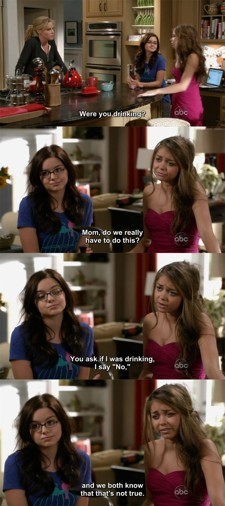 """""""Were you drinking?"""" ~ Modern Family Quotes ~ #modernfamily #modernfamilyquotes"""