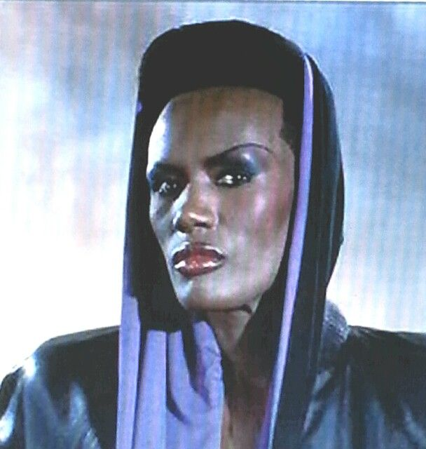 Grace Jones as Mayday in James Bond-Film A View to a Kill/Im Angesicht des Todes