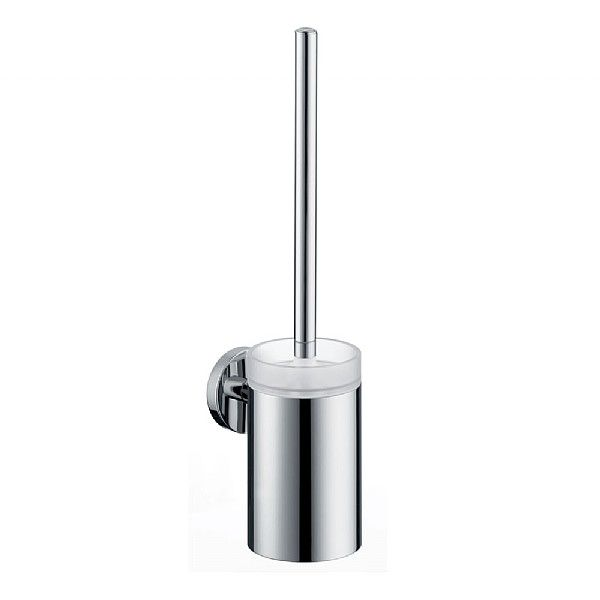 Hansgrohe Logis Toilet Brush With Holder | Toilet Brush Holders | CP Hart