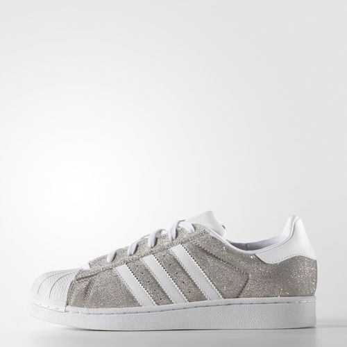 Adidas Superstar Grise Brillante