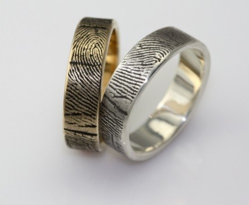 Biometric wedding bands.