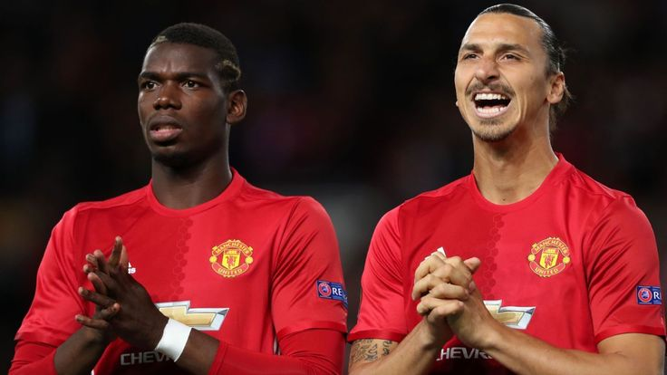 Zlatan Ibrahimovic 'still a big leader' at Manchester United - Paul Pogba