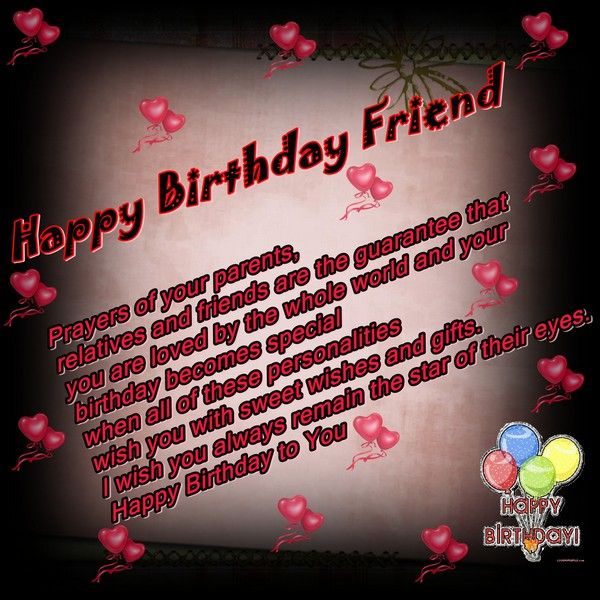 18 best Birthday Wishes images – Latest Birthday Greetings for Friends