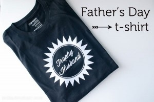 Trophy Husband, a DIY Father's Day t-shirt