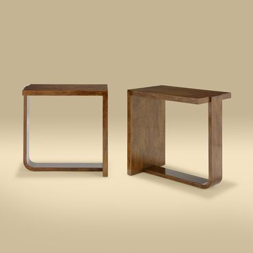 The Lapidus Side Tables by Rose Tarlow Melrose House