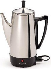 Coffee Percolator - How to Make Coffee in a Percolator : Talk About Coffee