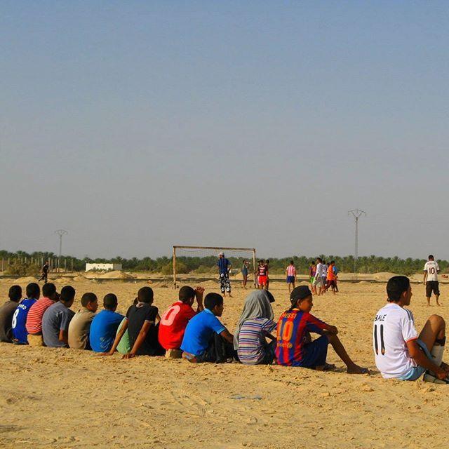 Tournoi de foot à Zaafrane
