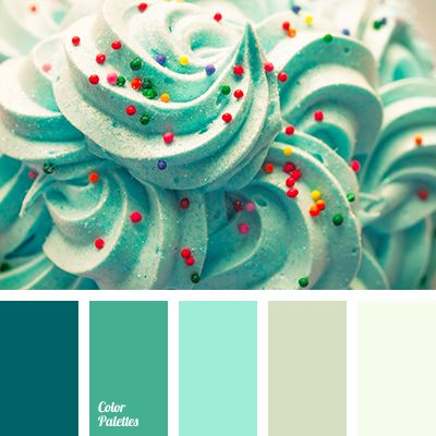 """Mint shades should be used in the interior with windows facing the sunny side, as these colors bring the feeling of coolness and """"chill"""" the space.."""