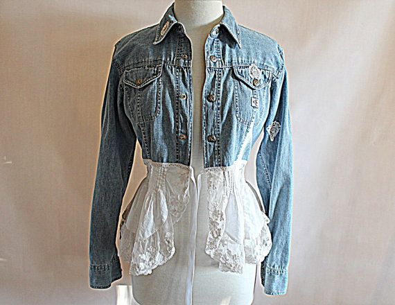 Womens Altered Couture Chambray by AmadiSloanDesigns, $55.00