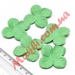 Набор цветов Makki гортензия 3,2см зеленая, 5шт