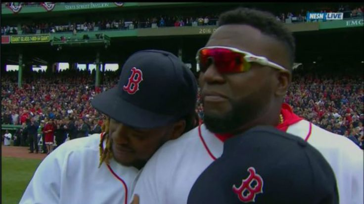 This is David Ortiz's final opening day for the Red Sox.