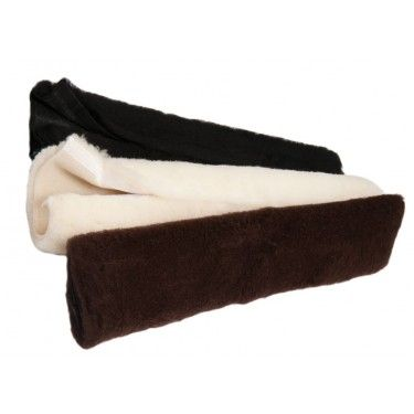 EA02 - 100% wool dressage girth sleeve with velcro fastening