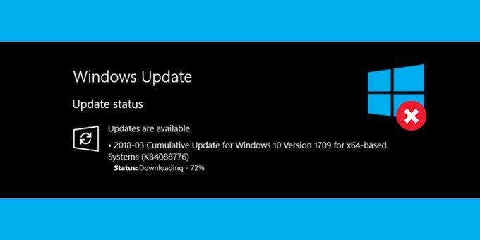 How To Fix Stuck Cumulative Updates On Windows 10