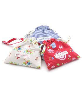 Gisela Graham Ditsy Flowers Lavender Scent Bag - Another Gorgeous Day