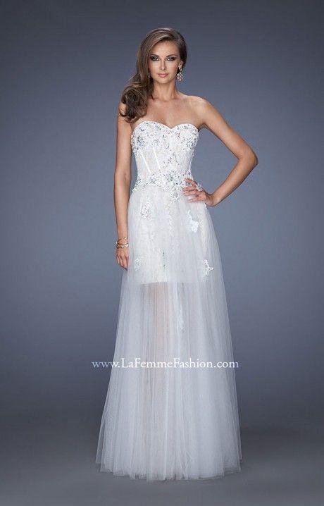Gigi 19961 Reception Dress Silver Amp White Wedding