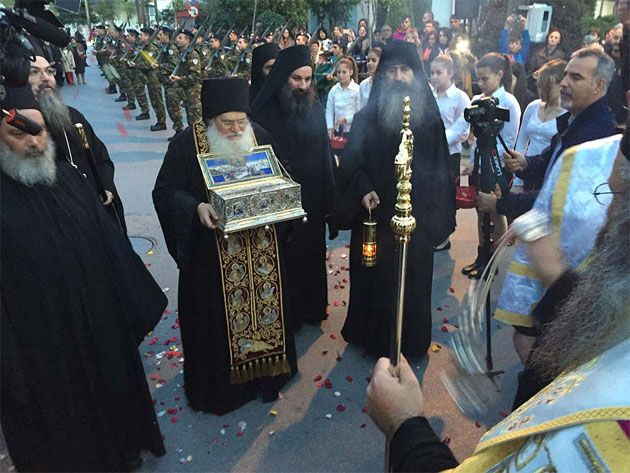 The Holy Belt of the Theotokos to visit Four Cities in Greece