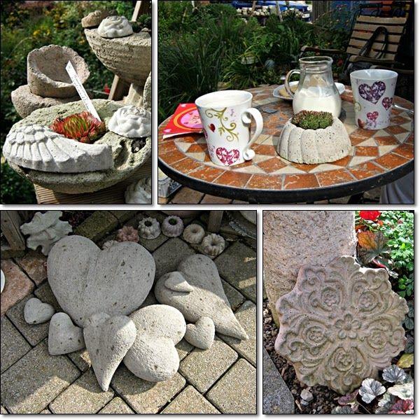 464 besten Beton DIY Bilder auf Pinterest Zement, Beton diy und - beton basteln garten