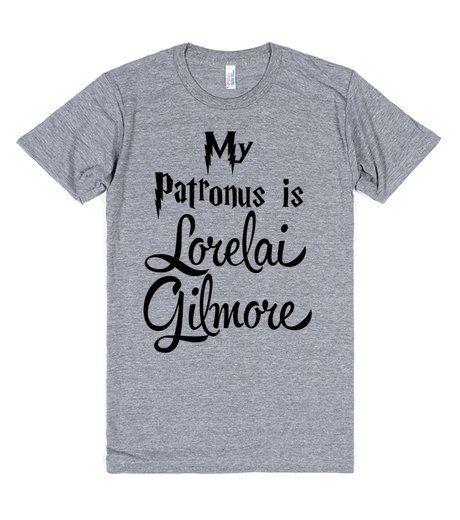 My Patronus is Lorelai Gilmore! Gilmore Girls + Harry Potter tshirt