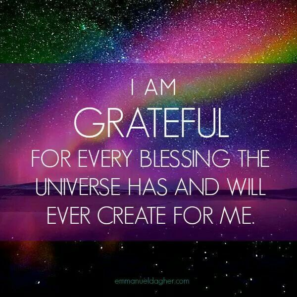There are so many Blessings we are grateful for...being at peace in the most wonderful feeling in the world!