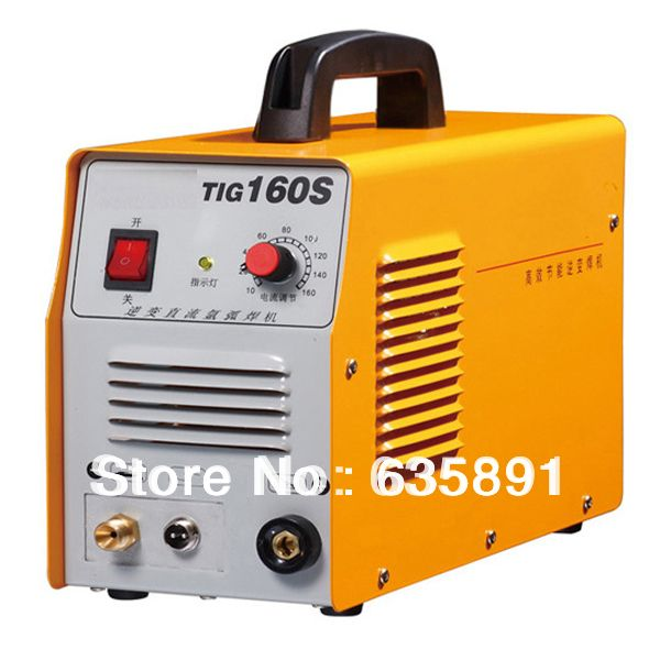 TIG-160S tig welder DC inverter welder with QQ150 tig torch