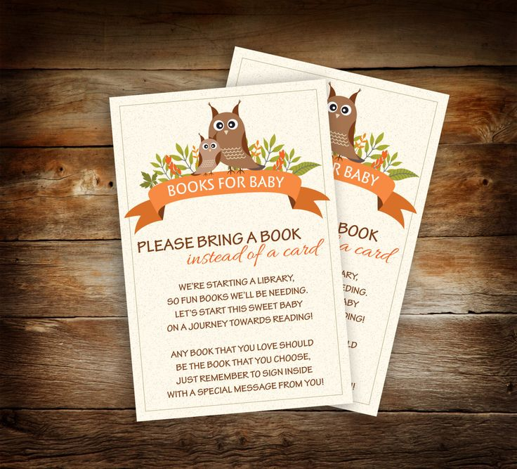 baby shower bbq invitation templates%0A Woodland Baby Shower  Book Theme Baby Shower  Please Bring a Book Instead  of a