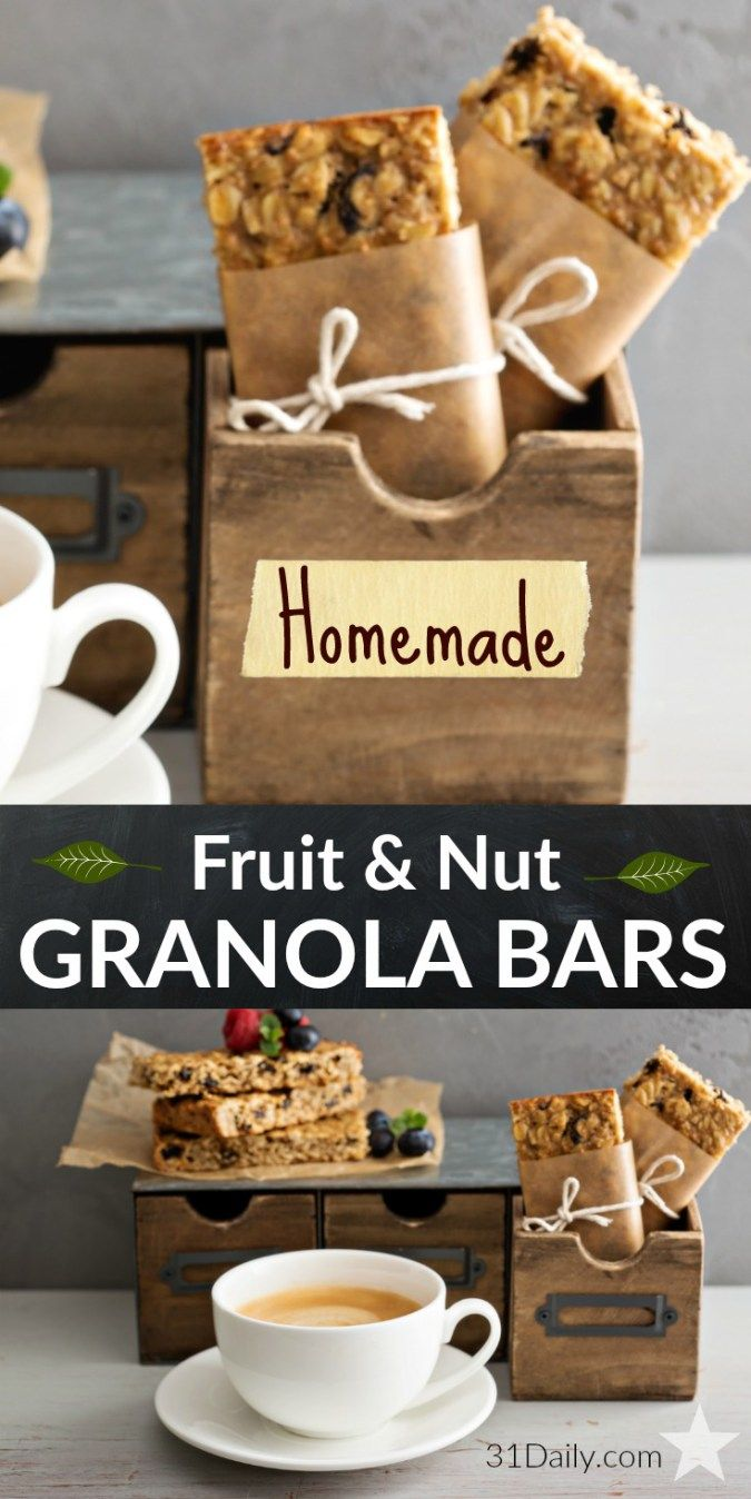 ... Recipes on Pinterest | Granola, Granola bars and Homemade granola bars