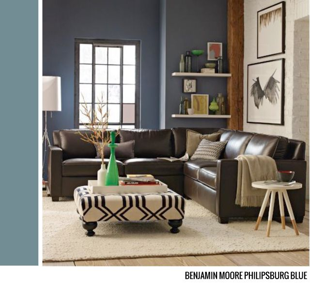 Benjamin Moore Philipsburg Blue (blue's And Teal's Are A